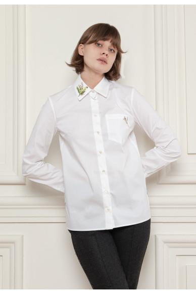 Рубашка с цепочкой на кармане Ферли