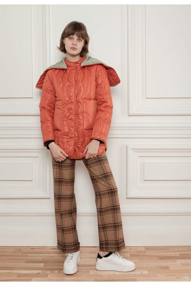 Стеганная двусторонняя куртка Ферн