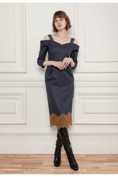 Limited edition   Платье из шерсти с добавлением кашемира Стокгольм