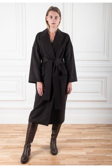 Пальто-халат из шерсти верблюда