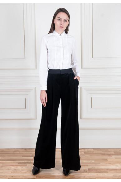 Оксамитові брюки палаццо