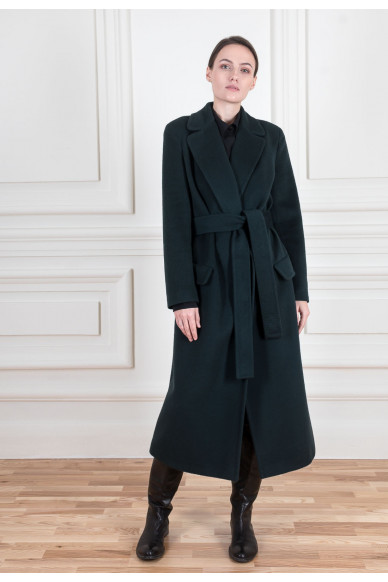 Базовое пальто длины миди