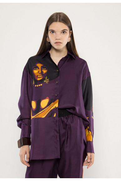 Heidi silk shirt