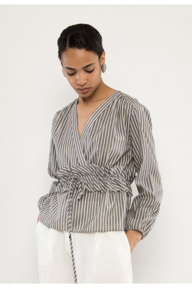 Diego striped blouse