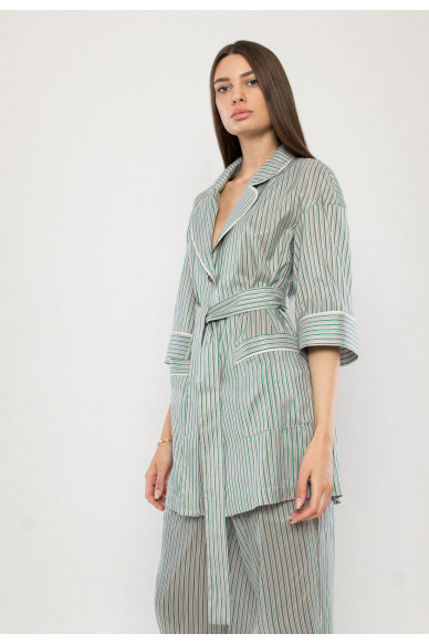 Tiffany silk pijama blouse