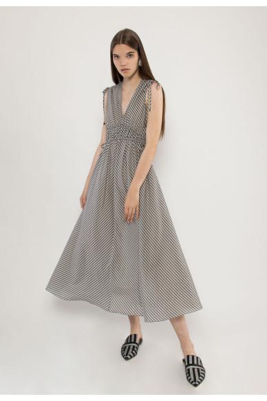 Mendy silk midi dress
