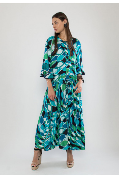 Libby silk maxi dress