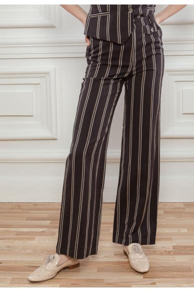 Костюмні брюки в смужку Вівіан