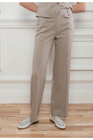 Костюмні лляні брюки Вівіан