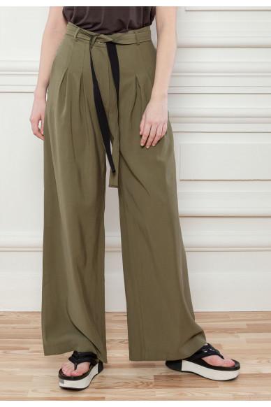 Струящиеся брюки палаццо Манхеттен