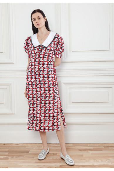Цветочное платье в стиле рэтро Бьянка