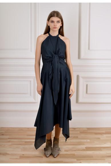 Многослойное платье из органического хлопка Орли