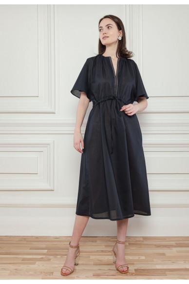 Батистовое платье на кулиске Эсмеральда