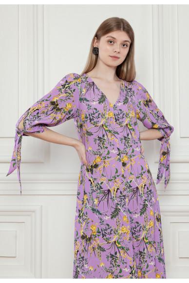 Струящееся платье с цветочным принтом Джейден