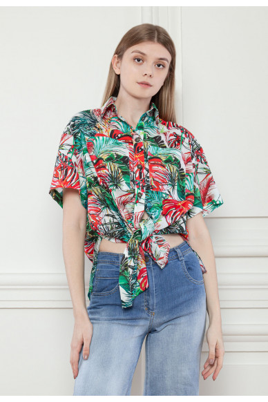 Гавайская рубашка Джангл