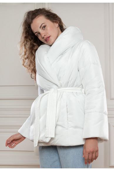 Куртка с объемным воротником Манхеттен