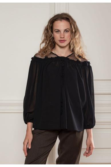 Шифонова блуза Сохо
