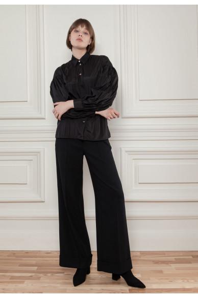Блуза с пышными рукавами Манхеттен