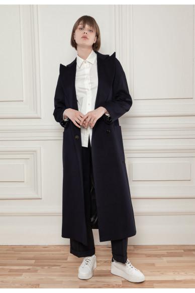 Limited edition. Пальто из шерсти с добавлением кашемира Луизиана