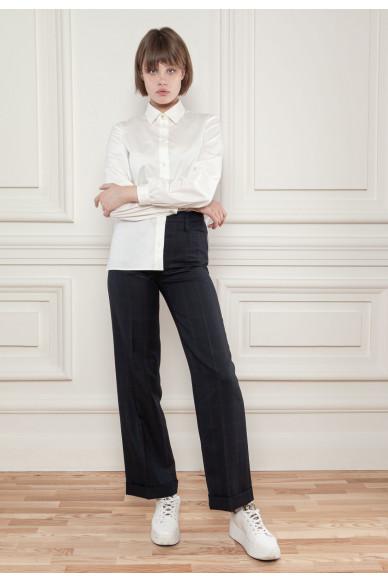 Классические брюки из костюмной шерсти Ферри