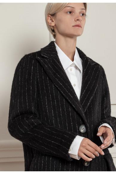 Пальто с добавление шерсти альпаки Манхеттен