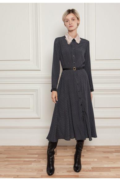 Сукня-сорочка в горошок Симфонія