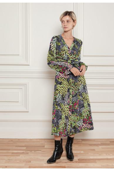 Платье с цветочным принтом Сюита