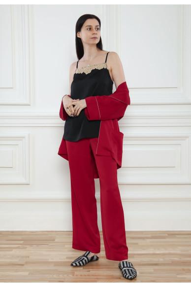 Атласные пижамные брюки Tiffani
