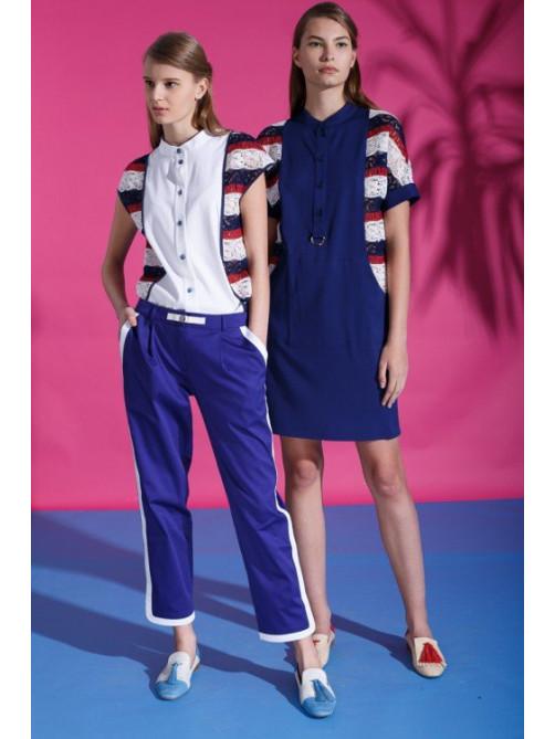 Блуза Альда, брюки Стефания, платье Альда