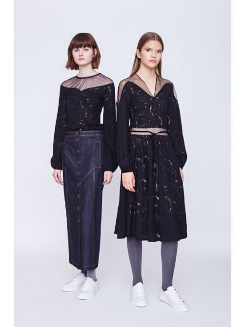 Топ Алексис, юбка Лейтон, платье Алексис