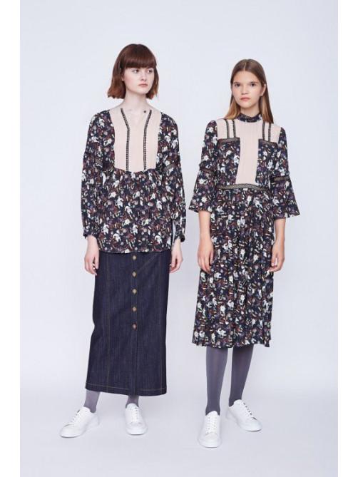 Блуза Грейн, юбка Лейтон, платье Грейн