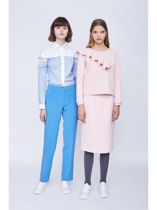 Блуза Синтия, брюки Бруно, топ Бромли, юбка Лучиана