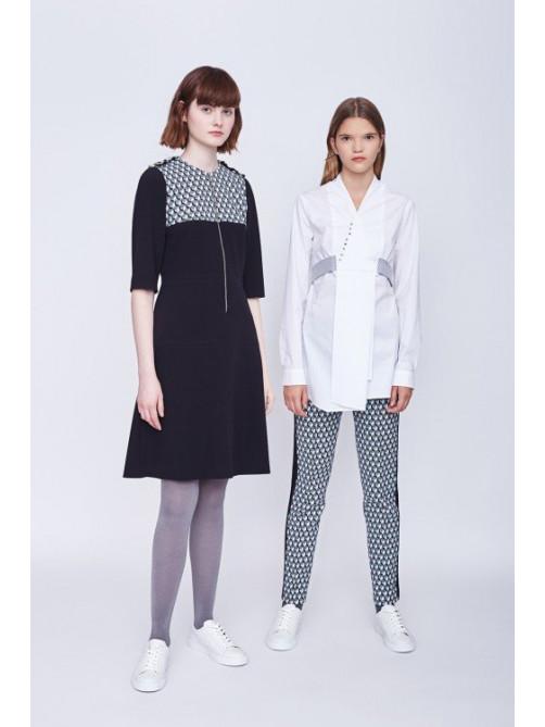 Платье Хилари, блуза Ренли, брюки Орлеан