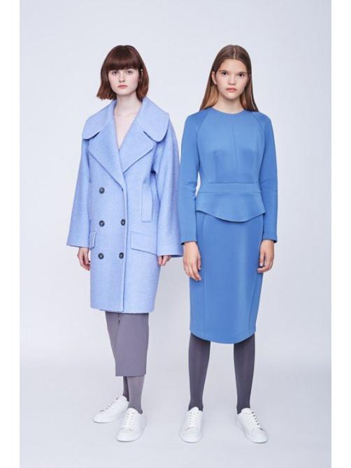 Пальто Нори 2, платье Орлеан